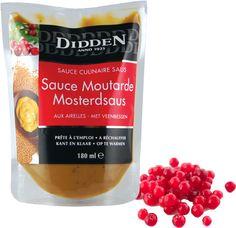 Warm Cranberry Mustard Sauce