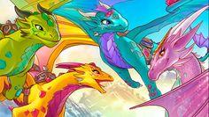 Elves Quiz Dragon Match
