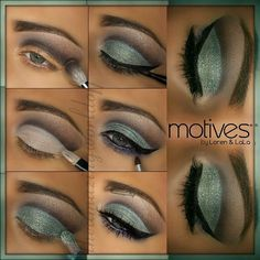 Beautiful makeup look using Motives cosmetics! Click picture or find it at: http://www.motivescosmetics.com/krompegalj