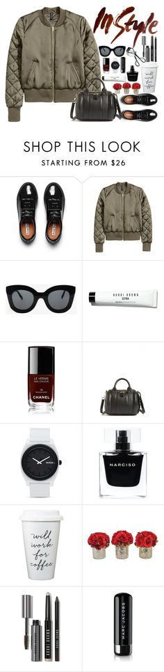 """In Style"" by fra3 ❤ liked on Polyvore featuring Acne Studios, CÉLINE, Bobbi Brown Cosmetics, Chanel, Alexander Wang, Nixon, Narciso Rodriguez and Marc Jacobs"