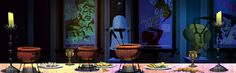 Stephen Nicodemus: Scooby Doo Mystery Incorporated background art