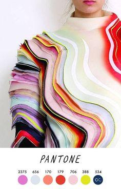 Ideas Fashion Design Textiles Colour For 2019 Color Trends, Color Combos, Design Textile, Neue Outfits, Fabric Manipulation, Color Stories, Pantone Color, Palette Pantone, Color Theory