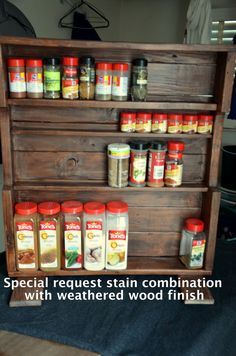 Hey, I found this really awesome Etsy listing at http://www.etsy.com/listing/170555797/large-spice-rack-stand-alone-made-with
