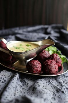 Learn how to make Vegan Beetroot Kofta Curry  ~ Spicy beetroot and potato vegan meatballs served in Mughalai style creamy cashew and almo...