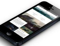 Noma Authentic | Website & App by Jonas Emmertsen, via Behance