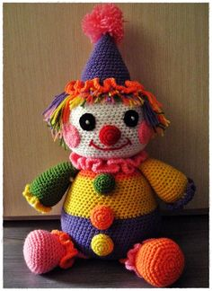 Clown; i know a lot of people hate clowns but i still think they can be cute (in small doses)