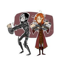 I'm pretty sure Tolkien never intended this but I love this pairing!