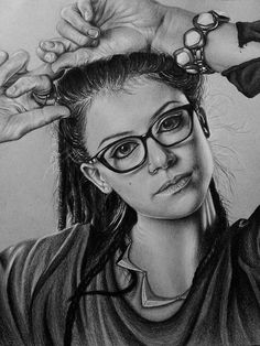 8 x 10 inch print of Cosima Niehaus from the tv show Orphan Black (portrayed by Tatiana Maslany). Originally drawn in black and white colored pencil. All ordered prints have a glossy finish and come without the watermark. Orphan Black, Cowboy Bebop, Black Tv, Back To Black, Blue Exorcist, Delphine Cormier, Sarah Manning, Inu Yasha, Tatiana Maslany