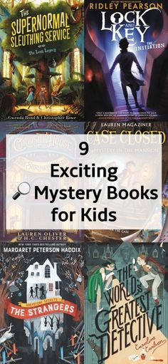 Here's a Clue: 9 Exciting Mystery Books for Kids – Outfit Book Club Books, Book Lists, Good Books, Books To Read, Books For Boys, Childrens Books, Tween Books, Best Mystery Books, Mystery Books For Tweens