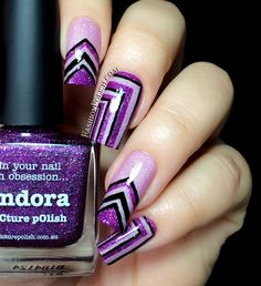 piCture pOlish Blog/Insta Fest 2014 - Pandora & Grace + Right Angle NailVinyls = nails by Fashion Polish!  Shop on-line: www.picturepolish.com.au