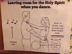 One Bible length for Holy Spirit via /r/funny...