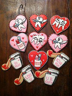 Bo's Dental Valentine Cookies