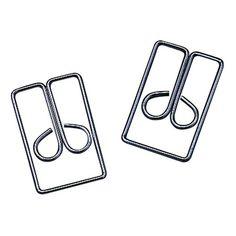 ACCO #3 Regal Owl Clips, Steel Wire, 1 Inch Length, Silver, 100 Clips per Box (A7072130) | #amazon.com