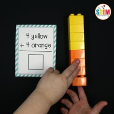 These free LEGO addition cards are awesome! Such a fun way to teach kids about adding. They would be perfect for first grade or second grade math centers. Envision Math Kindergarten, Kindergarten Math, Teaching Math, Kindergarten Addition, Preschool, Teaching Tools, Teaching Ideas, Math For Kids, Fun Math