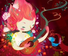 Lorena Alvarez. The captivating illustrations of... - SUPERSONIC
