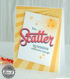 Scatter Sunshine Simple1