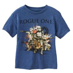Boys 4-7 Star Wars Rogue One Storm Trooper Graphic Tee, Boy's, Size: 5-6, Brt Blue