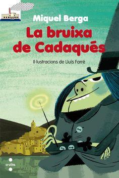La bruixa de Cadaqués / Miquel Berga I** Ber cada vegada que apareixia, feia bufar una tramuntana terrible. I, llavors, ningú no podia sortir de casa. Un dia, els gats, farts de patir, van anar a veure el senyor Dalí ...