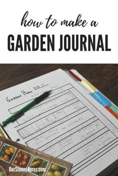 A garden journal is a handy tool for backyard gardeners. A good Garden Journal has 4 sections. Read this article to learn how to make a planting journal. Design Thinking, Gardening For Beginners, Gardening Tips, Gardening Courses, Gardening Zones, Gardening Services, Flower Gardening, Garden Journal, Garden Signs