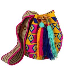 Wayuu Mochila bag Small - Cross Body