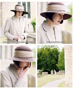 Downton Last Season Lady Mary .......My darling…she sould have won an award for this scene