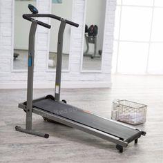 Folding Portable Treadmill Cardio Foldable Compact Exercise Machine Small Space…