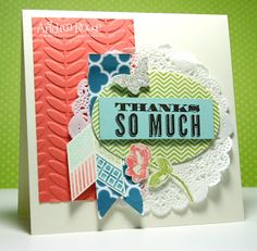 Stampin up, oh hello