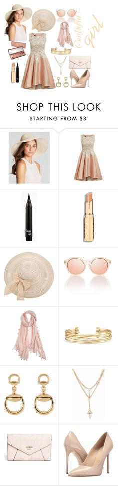 """Confused"" by rebi1234-1 ❤ liked on Polyvore featuring Eric Javits, Urban Decay, Chan Luu, Stella & Dot, Gucci, GUESS and Massimo Matteo"