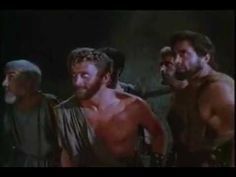 """Scene from the 1955 movie """"Ulysses"""" min). (Story based on Homer's epic """"The Oddysey"""") Cyclops, Spy, Wrestling, Wine, Youtube, Movies, Fictional Characters, Lucha Libre, Films"""