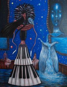 "VWL/FV/002  (Paris 2013 "" Opera"")-Acrylic on canvas/Acrylique sur toile/Acrylico sobre tela (116X89cm)"