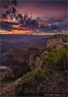 Beautiful Sunrise Picture in the Grand Canyon. #ArisingImages #Pretty #Nature #Beautiful