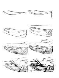 Bildergebnis für how to draw a boat