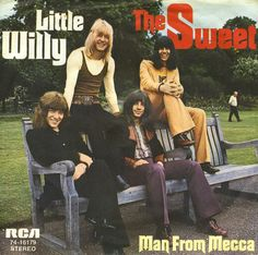 """'Sweet' had great success in the 1970s as a glam rock act, with their most prolific line-up: lead vocalist Brian Connolly, bass player Steve Priest, guitarist Andy Scott, and drummer Mick Tucker. The band achieved notable success in the UK charts, with thirteen Top 20 hits during the 1970s. """"Ballroom Blitz"""" was released as a single in 1973, where it entered at no.2 in the UK singles chart, making it one of the year's biggest chart successes."""