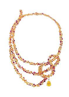 A Boucheron necklace