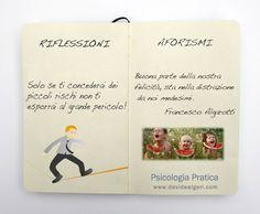 Buona parte della nostra felicità, sta nella distrazione da noi medesimi. F. Algarotti  #aforismiterapeutici #moleskinpsy