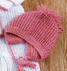 Вязание шапок для детей: Шапочки для самых маленьких