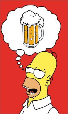Homer Simpson by buffman on DeviantArt Homer Simpson Beer, Homer Simpson Quotes, Bart Simpson, Homer Simpson Drawing, The Simpsons, Simpsons Quotes, Simpson Wallpaper Iphone, Simpsons Characters, Keramik Design