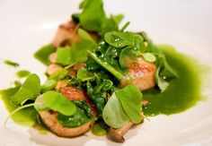 Scallops with stinging nettles, Gwynnett St by gsz, via Flickr