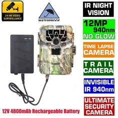159.99$  Watch now - http://ali9z3.worldwells.pw/go.php?t=32557532536 - Free Shipping!SG-880V 1080P No Glow 12MP 940NM Mini Infrared IR Digital Trail Game Scouting Hunting Camera&12V 4800mAh Battery 159.99$