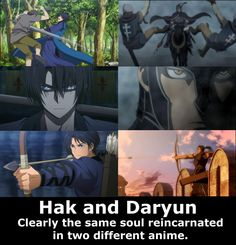 Son Hak from #AkatsukiNoYona and Daryun from #arslan Senki would be such good bros.