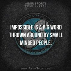 #Impossible is nothing. Break the #limit. #success #motivation #dreams
