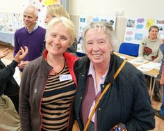 Elma (Chair) and Sue from the North Berwick Day Centre - at the end of a very successful day!