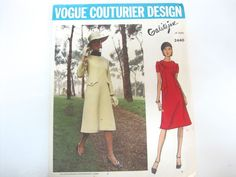 Vogue Couturier Design Galitzine of Italy Pattern 2440 Size 12