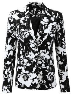 Damart printed milano jacket, reference code B421. www.damart.co.uk
