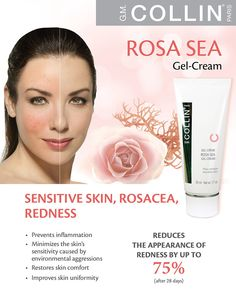 Rosa Sea Gel-Cream, perfect for rosacea prone skin and sensitive skin