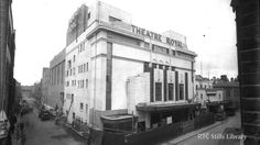 The Theatre Royal, art deco manifestation in the 1950s.