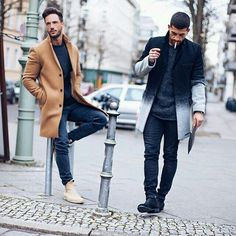 #streetstyle #menstyle #camel #boots #ombre #allblack