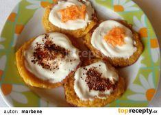 Sladké mrkvové lívanečky recept - TopRecepty.cz Muffin, Eggs, Breakfast, Morning Coffee, Muffins, Egg, Cupcakes, Egg As Food