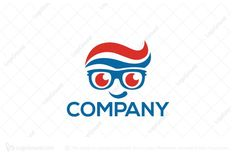 Logo for sale: Dental Geek Logo by SimplePixel, uploaded on Logo design of a person wearing glasses with the hair shaped like toothpaste. Dental, Acting, Disney Characters, Fictional Characters, Logo Design, Geek Stuff, Community, Logos, People
