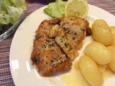 Das perfekte Fisch:   SEELACHS in  ~Kräuter-Ei~-Rezept mit einfacher Schritt-für-Schritt-Anleitung: Den Fisch unter fließendem Wasser kalt abbrausen und…